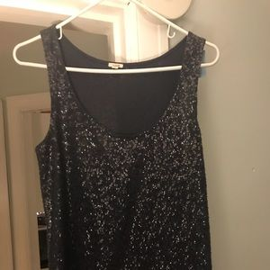 Sequin tank top from J Crew